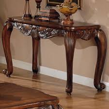 Wooden Console Table Brown Wood Console Table A Sofa Furniture Outlet