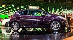 peugeot purple paris 2012 peugeot 208 xy live photos autoevolution