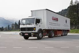 mercedes truck from hard haul to high tech 50 years of truck development for the