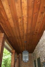 cedar porch ceiling finish www energywarden net