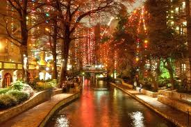 san antonio tree lighting 2017 christmas lights on the river walk