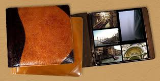 personalized leather photo album personalized custom leather photo albums 12 x 12