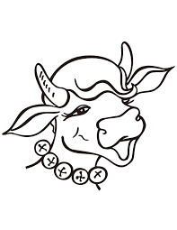 animal cow simple coloring page h u0026 m coloring pages