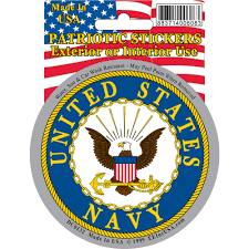 Navy Flag Meanings Us Navy Logo Car Decal Rushindustries