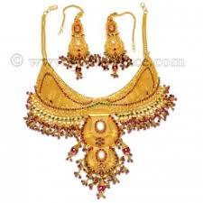 bridal gold set 22 k bridal sets rani haar goldpalace