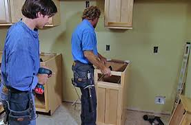 how to install lower cabinets installing lower kitchen cabinets see it do it