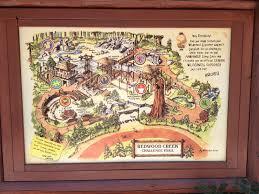 Disney California Adventure Map Redwood Creek Challenge Trail At Disney U0027s California Adventure