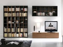 Modern Wall Bookshelves Private Library Furniture Type Modern Wall Bookshelf Design And