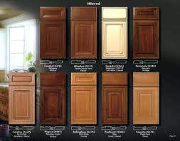 kitchen cabinet wood choices color choices for kitchen cabinets wood stain colors faced