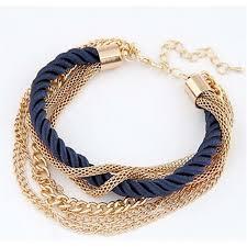 bracelet for fashionable rope chain decoration bracelet for girl six color hot