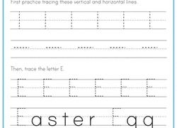 preschool the alphabet worksheets u0026 free printables education com