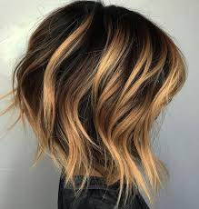 brown and blonde ombre with a line hair cut best 25 short balayage ideas on pinterest short ombre balayage