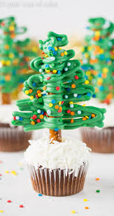 easy tree cupcakes your cup of cake