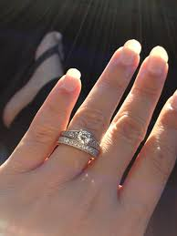 how to wear wedding ring set proper way to wear wedding ring set images jewelry design exles