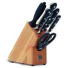 set couteau de cuisine le bloc couteaux de