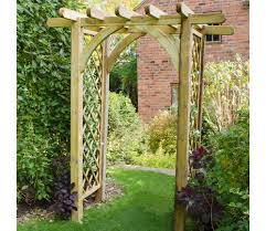Pergola Ideas Uk by Ultima Pergola Arch From Forest Garden Products Gardensite Co Uk
