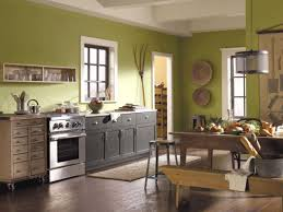 Yellow Kitchen Paint Schemes Green And Yellow Painted Kitchen Walls 2018 Also Blue Paint Colors