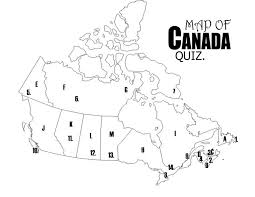 blank political map of canada geography grade 6 social studies