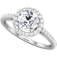 engagement rings uk diamond halo ring