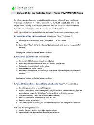 Printer Resume Canon Printer Reset Methods 3 Printer Computing Equipment