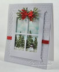photo frame cards window greeting card cut window frame and panes out of