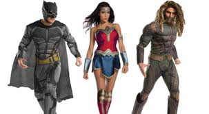 unite your own justice league with these official costumes for adults