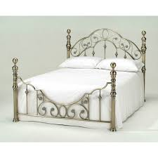 harmony florence metal bed frame double 4ft 6 inch kingsize 5ft