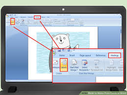 3 ways to make post cards in word wikihow