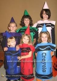 crayon halloween costume coolest homemade crayon costumes