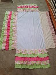 Crib Bed Skirt Diy A Bolt Of Diy Ruffled Crib Skirt Because I I Won