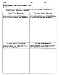 Reading Comprehension 7th Grade Worksheets Question Answer Relationship Worksheet Worksheets Reviewrevitol