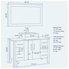 Standard Height Of Bathroom Mirror Height Of Bathroom Vanity Tempus Bolognaprozess Fuer Az