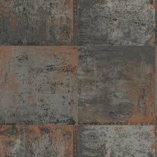holden decor metal panel copper plate wallpaper 65164