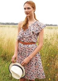 fairtrade and organic summer bridesmaid dresses in vintage