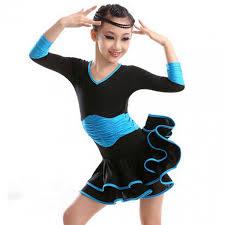 latin dance dress for girls children ballet dress kids gown tutu