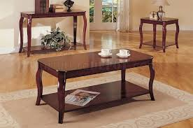 Coffee Tables And End Table Sets Cherry End Tables Ggregorio