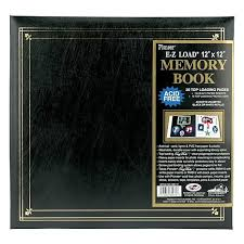 postbound album postbound album 12 x 12 black 2349211 hsn