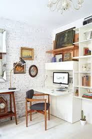 perfect living room home office nooks short on space but not style