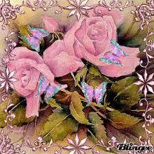 roses and butterflies 2 esmeralda