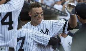 Aaron Judge Breaks Mlb Rookie Record With 50th Home Run Rolling Stone - judge hits 49th and 50th home runs breaks mcgwire s rookie record