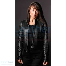 shop online women leather fashion steel jacket women