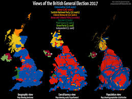 Election Map Results by Britain Elects The Results Summer Edition 2017 Views Of The World