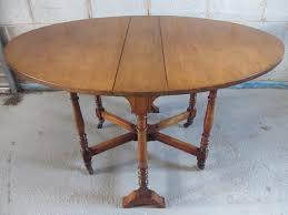 oval drop leaf table victorian walnut oval drop leaf sutherland dining table reception