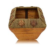 home decor bamboo basket small baskets and boards