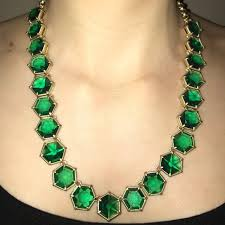 necklace with green stone images Talbots jewelry green stone necklace poshmark jpg