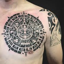 polynesian chest part of mayan calendar throughout