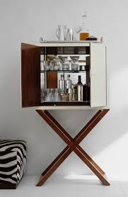 Small Bar Cabinet A Chic Bar Cabinet Reveals The Makings Of Cocktail Hour By Ralph