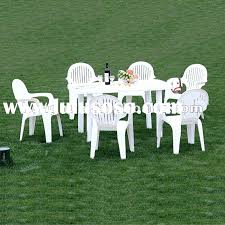 White Resin Patio Tables Fashionable White Plastic Patio Chairs Breathtaking White