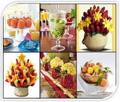 fruit centerpiece fresh fruit inspired unique wedding centerpiece wedding to be