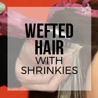shrinkies hair extensions shrinkies hair extension tutorials doctored locks